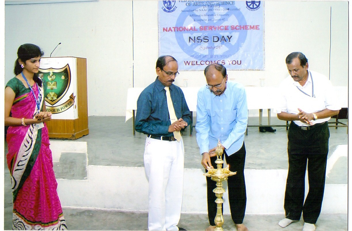 NSS Day at our college Seminar Hall