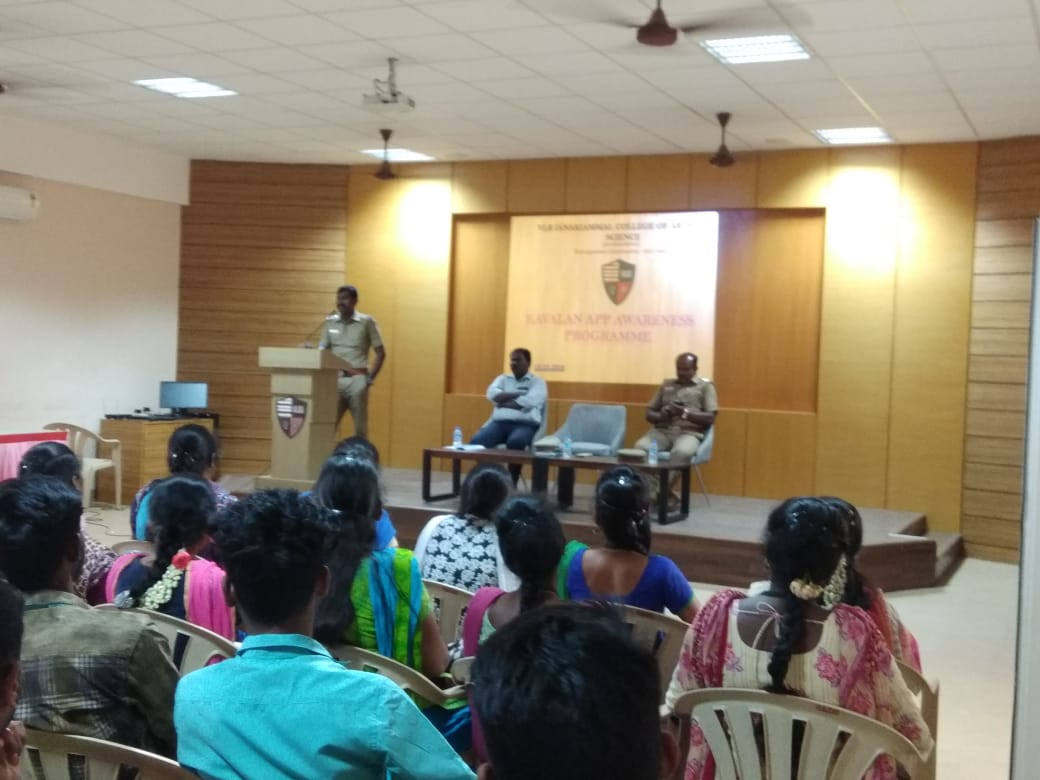 Awareness of Kavalan Apps for the society