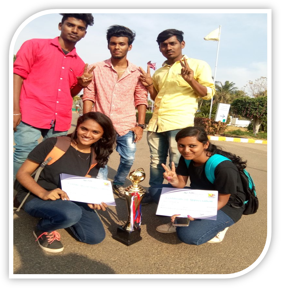 Overall Trophy in the Inter-collegiate meet