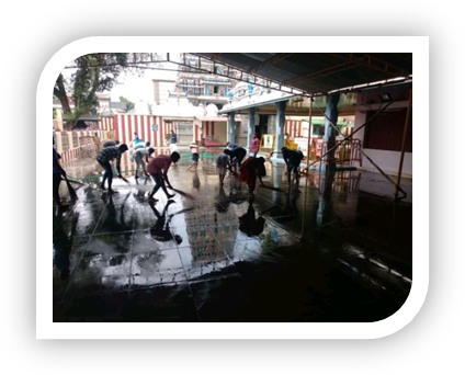 Temple Cleaning Activity